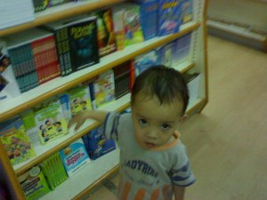 Aqil di Pesta Buku Kelantan 2009