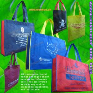 Jenis beg  Non Woven Polypropylene yang banyak digunakan sekarang.