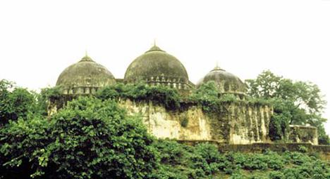 Masjid Babri sebelum dirobohkan