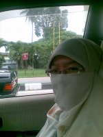 Sahabat saya yang memakai purdah di keluargakusayang.blogspot.com