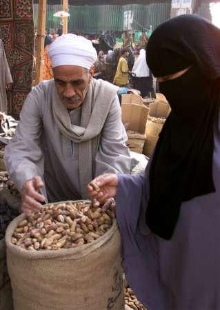 Niqabi dalam urusan jual beli.