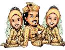 poligami kartun