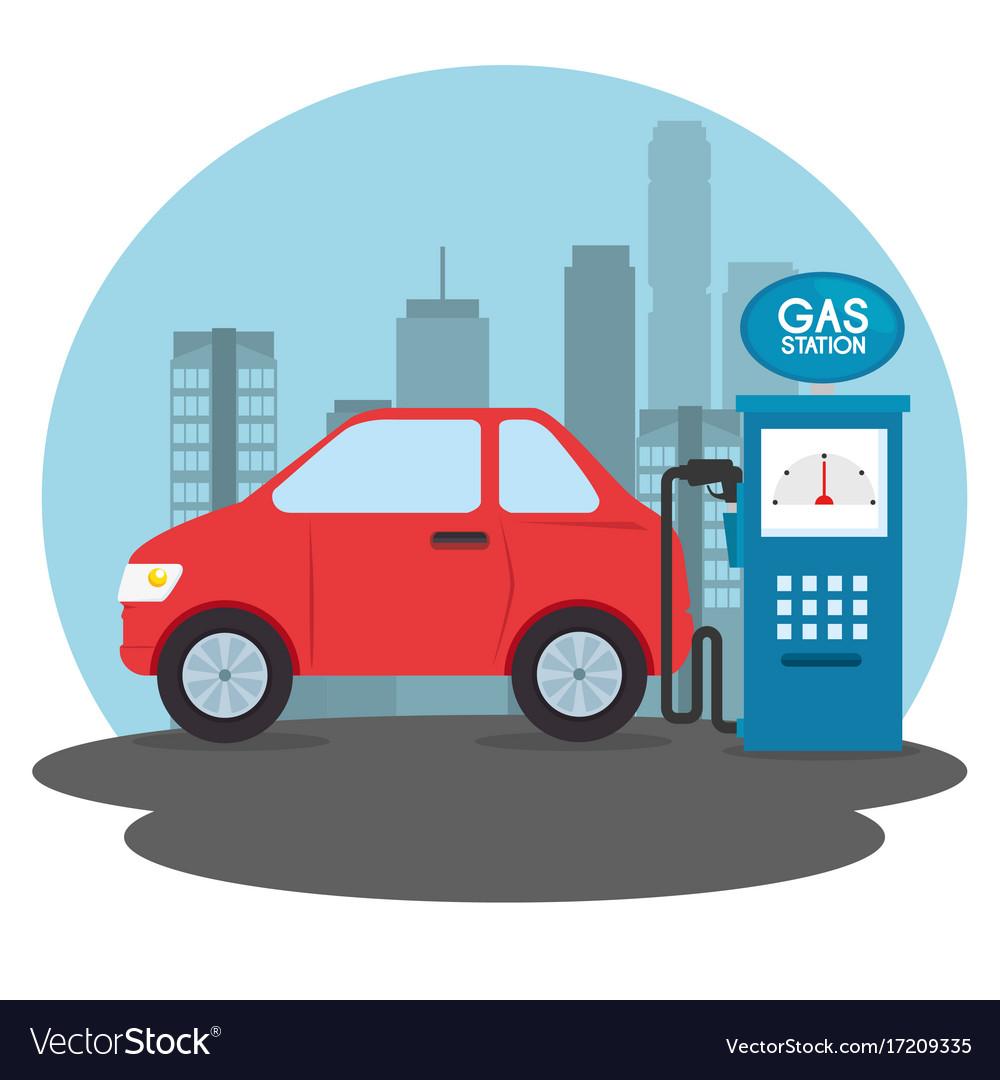 gas-station-cartoon-vector-17209335