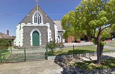 Masjid Geelong yang berasa dari sebuah gereja.